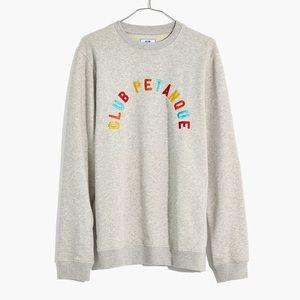 Madewell x Club Petanque Rainbow Sweatshirt